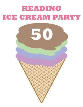 Reading Ice Cream Party
