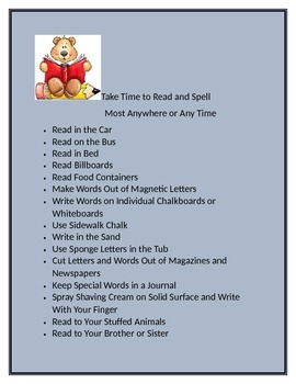 Fun Reading Ideas for All Ages