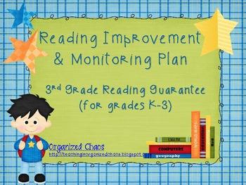 Reading Improvement & Monitoring Plan (for Ohio's Third Gr