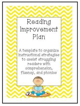 Reading Improvement Plan
