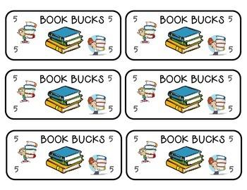 Reading Incentive Book Bucks