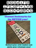 Reading Incentive Bookmarks