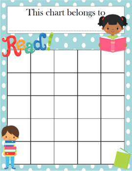 Reading Incentive Chart