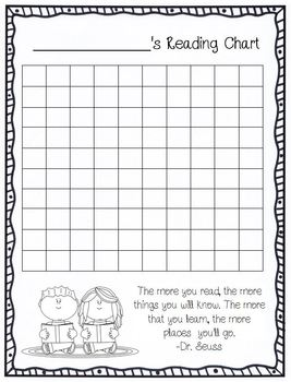 Reading Incentive Chart AND Hundreds Chart in ONE Set