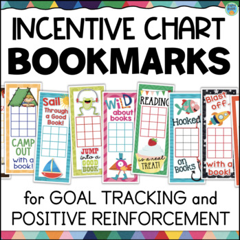 Reading Incentive Chart Bookmarks
