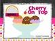 Reading Incentive Charts & Log: Ice Cream Sundae Theme