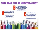Reading Incentive Classroom Mini Poster