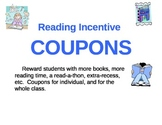 Reading Incentive Coupons