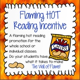 Reading Challenge - Flaming Hot Readers