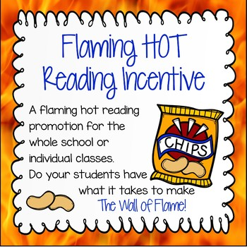 Reading Incentive - Flaming Hot Readers