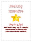 Reading Incentive Mini Book
