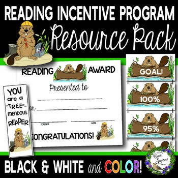 {Perfect for AR!} Reading Incentive Program Resource Pack