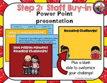 Reading Incentive Program! School-wide!  Million Minute Challenge!