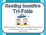 Reading Incentive Tri-folds - Outer Space Themed