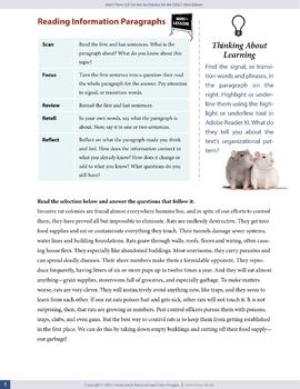 Reading Information Paragraphs — OSSLT Prep — print