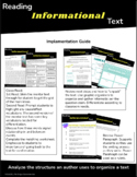 Reading Informational Text- Cause and Effect/Power Paragraph