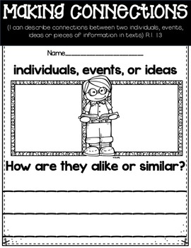Reading: Informational Text Common Core First Grade