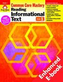 Reading Informational Text, Grade 1 - Teacher's Edition, E-book