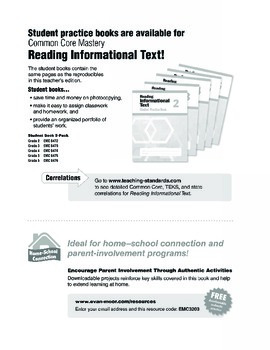 Reading Informational Text, Grade 3 - Teacher's Edition, E-book