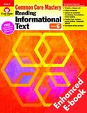 Reading Informational Text, Grade 6 - Teacher's Edition, E-book