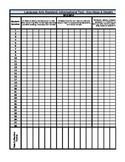 Reading Informational Text Gradebook (Common Core)