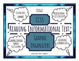 RI—Informational Text Graphic Organizers Bundle!!! Nonfiction