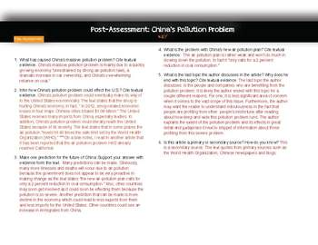 Informational Texts (R.I.1)-Modern Issues, 3-Day Lesson OR Article of the Week