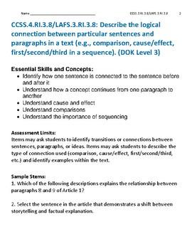 Reading Informational Text RI.3.8