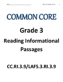 Reading Informational Text RI.3.9