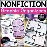 Reading Informational Text or Nonfiction Graphic Organizers