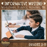 Informative/Explanatory Writing for Common Core