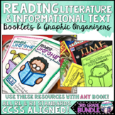 Reading Informational and Literature Booklets and Graphic Organizers BUNDLE!
