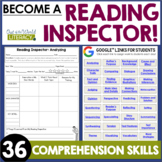 Reading Inspector: Comprehension Fun!  | Distance Learning