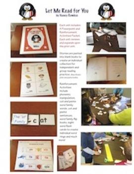 Reading Instruction-A Complete Phonics/Reading/Sight Word Program-Unit 2-'AP'