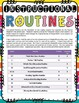 Reading Instructional Routines Posters