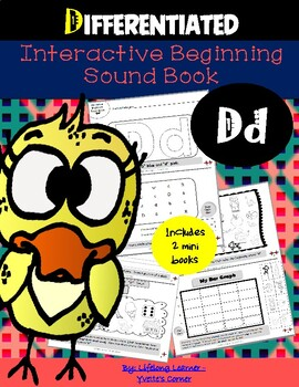 "Reading Interactive Beginning Sound ""D"" Book ** 2 FOR THE PRICE OF 1**"