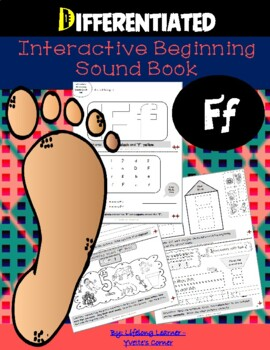 "Reading Interactive Beginning Sound ""F"" Book ** 2 FOR THE"