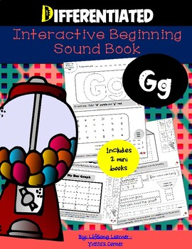 """Reading Interactive Beginning Sound """"G"""" Book ** 2 FOR THE"""