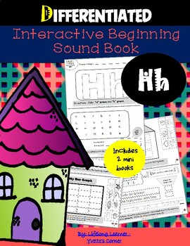 "Reading Interactive Beginning Sound ""H"" Book ** 2 FOR THE"