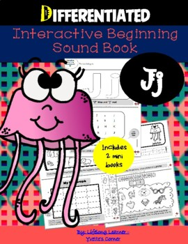 """Reading Interactive Beginning Sound """"J"""" Book ** 2 FOR THE PRICE OF 1**"""