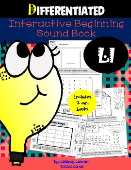 """Reading Interactive Beginning Sound """"L"""" Book ** 2 FOR THE PRICE OF 1**"""