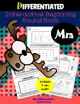 """Reading Interactive Beginning Sound """"M"""" Book ** 2 FOR THE PRICE OF 1**"""