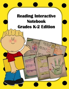 Interactive Reading Notebook First Grade