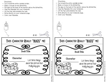Reading Interactive Notebook: fun to use in reading response journals