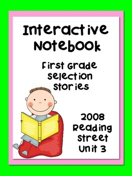 Reading Interactive Notebook, 2008 Reading Street Selection Stories