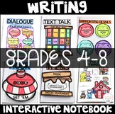 Writing Interactive Notebook with Standard Based Lessons Grades 4-8