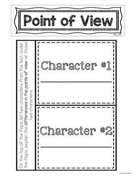 Reading Interactive Notebook for 2nd Grade | Common Core-Aligned