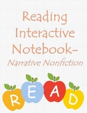 Reading Interactive Notebook-Narrative Nonfiction
