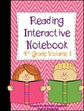 Reading Interactive Notebook 4th Grade Edition