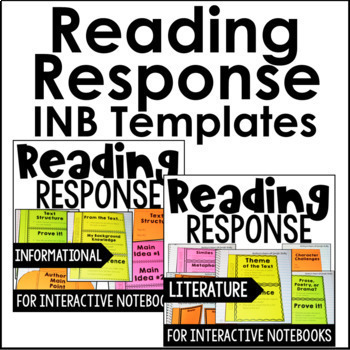 Reading Interactive Notebook | 5th Grade Interactive Notebook for Reading